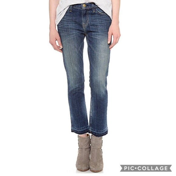 ff51034f96e3c8 Current/Elliott Denim - Current Elliott The Cropped Straight In Hartley